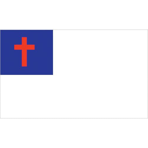 Christian Flag - Nylon