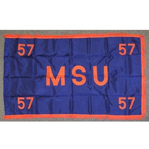 MSU Class of 57<BR>3x5' Nylon Flag - FlagsOnline.com by CRW Flags Inc.