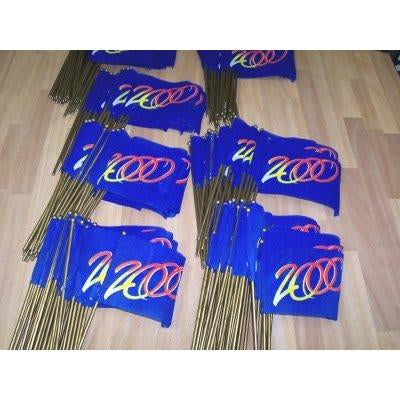 """2000"" 4x6 inch flags [bundle of 64 pieces] - CRW Flags Inc."