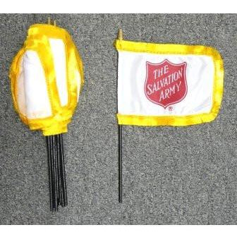 "Salvation Army 4x6"" flags [bundle of 12 pieces] - FlagsOnline.com by CRW Flags Inc."