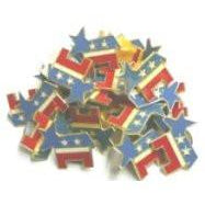 Democrat Metal Pins [bundle of 24 pieces] - FlagsOnline.com by CRW Flags Inc.