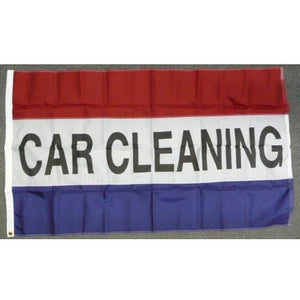 CAR CLEANING 3x5' Nylon Flag - FlagsOnline.com by CRW Flags Inc.