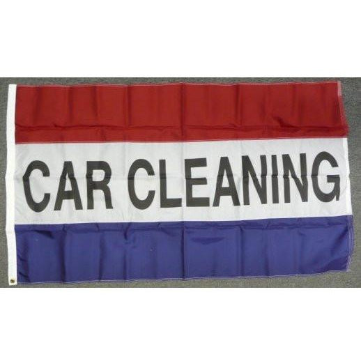 CAR CLEANING 3x5' Nylon Flag