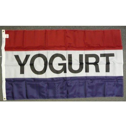 YOGURT 3x5' Nylon Flag - FlagsOnline.com by CRW Flags Inc.