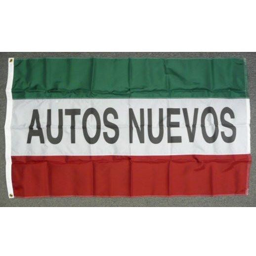 AUTO NUEVOS 3x5' Nylon Flag - FlagsOnline.com by CRW Flags Inc.