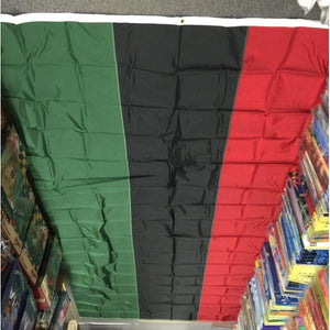 Afro American 7x12' Nylon Flag - FlagsOnline.com by CRW Flags Inc.