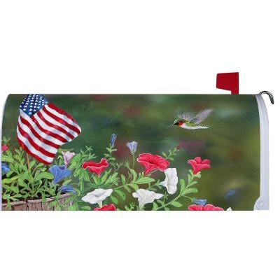 Patriotic Hummer Standard Mailbox Cover - FlagsOnline.com by CRW Flags Inc.
