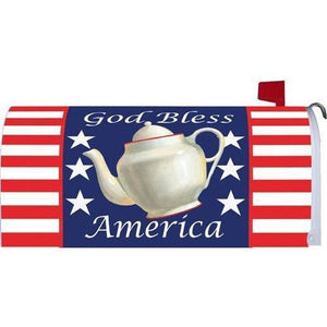 Patriotic Teapot Standard Mailbox Cover - FlagsOnline.com by CRW Flags Inc.