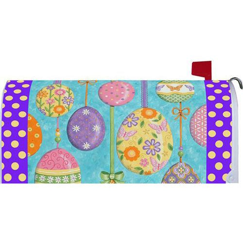 Floating Easter Eggs Standard Mailbox Cover - FlagsOnline.com by CRW Flags Inc.