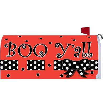 Boo Y'all Standard Mailbox Cover - FlagsOnline.com by CRW Flags Inc.