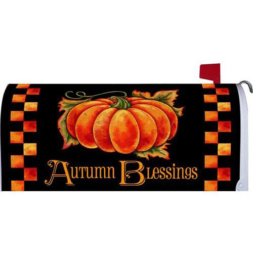 Autumn Blessings Standard Mailbox Cover