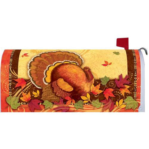 Happy Thanksgiving Standard Mailbox Cover - FlagsOnline.com by CRW Flags Inc.