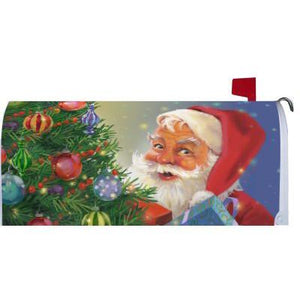 Here Comes Santa Claus Standard Mailbox Cover - FlagsOnline.com by CRW Flags Inc.