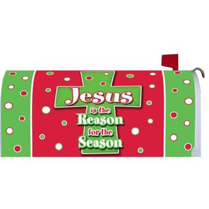 Christmas Cross Standard Mailbox Cover - FlagsOnline.com by CRW Flags Inc.