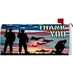 Thank You Troops Standard Mailbox Cover - FlagsOnline.com by CRW Flags Inc.
