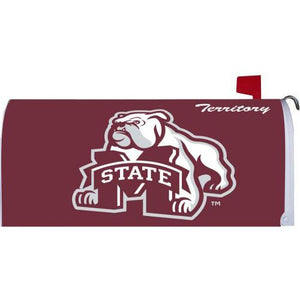 Mississippi State University Standard Mailbox Cover- FlagsOnline.com by CRW Flags Inc.