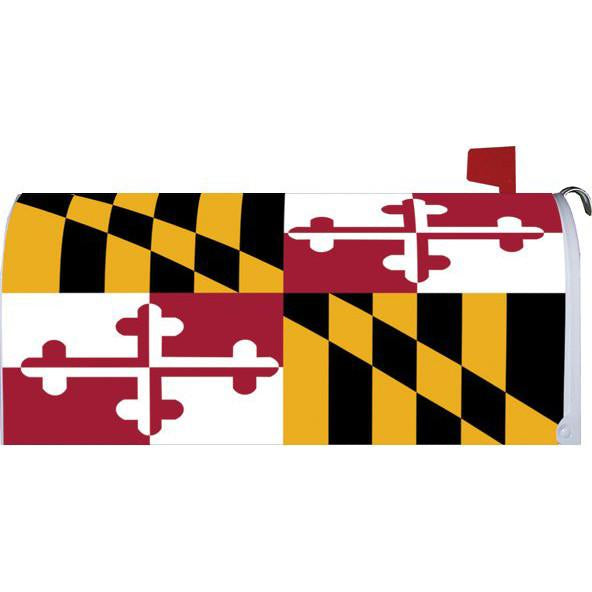 Maryland Flag Standard Mailbox Cover