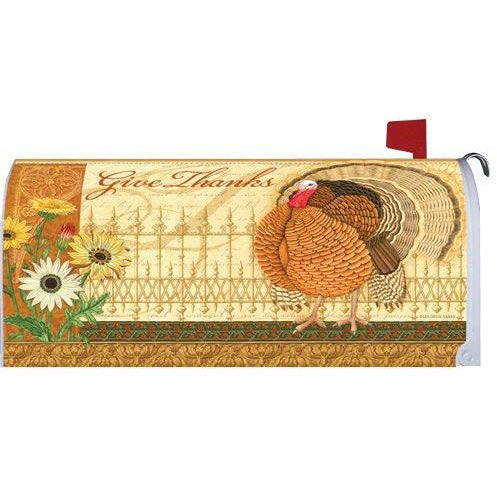Elegant Turkey Standard Mailbox Cover - FlagsOnline.com by CRW Flags Inc.