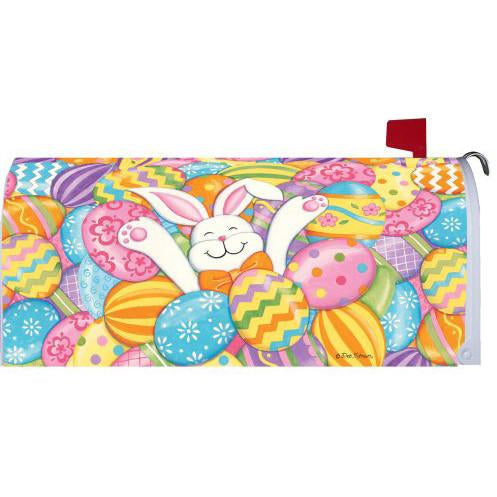 Bunny Eggs Standard Mailbox Cover