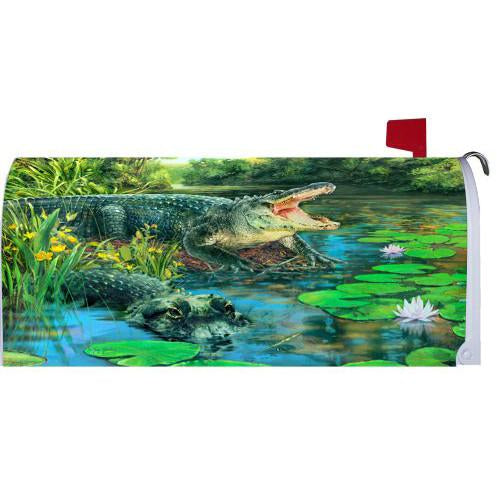 Alligators Standard Mailbox Cover
