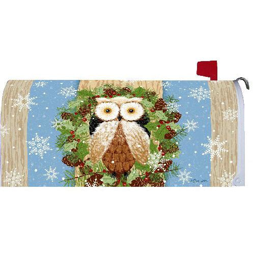 Woodland Owl Standard Mailbox Cover - FlagsOnline.com by CRW Flags Inc.