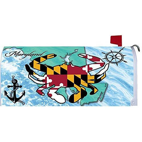 Maryland Crab Standard Mailbox Cover - FlagsOnline.com by CRW Flags Inc.