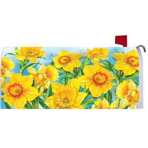 Daffodils Standard Mailbox Cover - FlagsOnline.com by CRW Flags Inc.