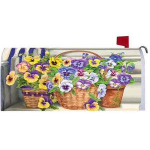 Pansy Steps Standard Mailbox Cover - FlagsOnline.com by CRW Flags Inc.