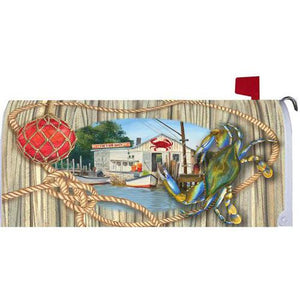 Crab Shack Standard Mailbox Cover - FlagsOnline.com by CRW Flags Inc.