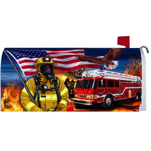 Firefighters Standard Mailbox Cover - FlagsOnline.com by CRW Flags Inc.