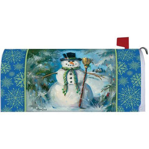 Top Hat Snowman Standard Mailbox Cover - FlagsOnline.com by CRW Flags Inc.