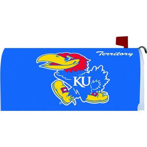 University of Kansas Standard Mailbox Cover- FlagsOnline.com by CRW Flags Inc.