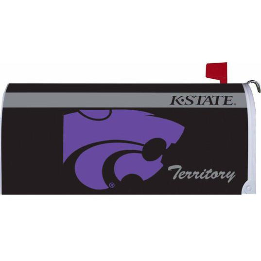 Kansas State University Standard Mailbox Cover- FlagsOnline.com by CRW Flags Inc.