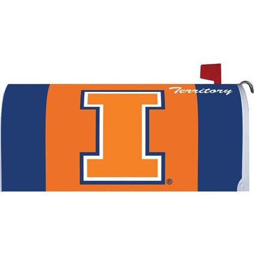Illinois Standard Mailbox Cover - FlagsOnline.com by CRW Flags Inc.