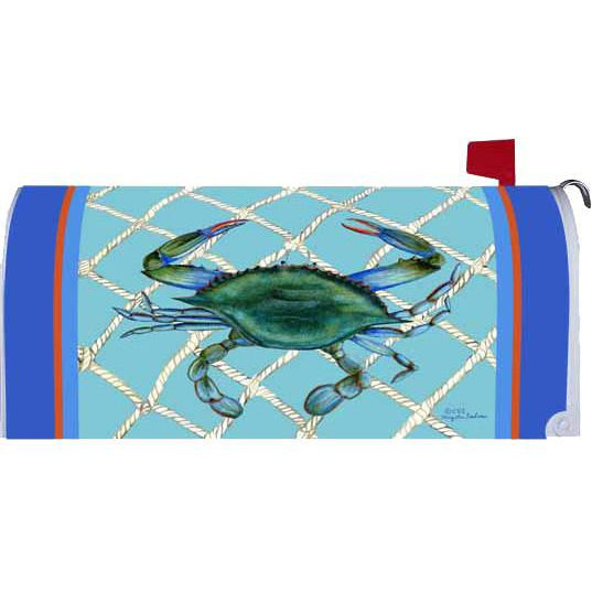 Welcome Crab Standard Mailbox Cover