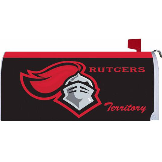 Rutgers University Standard Mailbox Cover