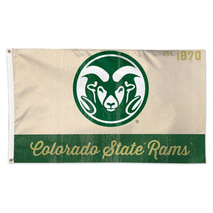 Colorado State University 3x5ft Deluxe Flag