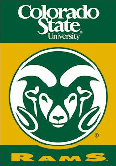 Colorado State University House Flag 2 Sided