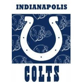 Indianapolis Colts House Flag 2 Sided