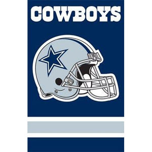 Dallas Cowboys House Sewn Flag 2 Sided