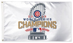 Chicago Cubs 2016 World Series Champs 3x5ft Deluxe Flag