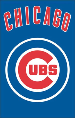 Chicago Cubs House Flag 2 Sided