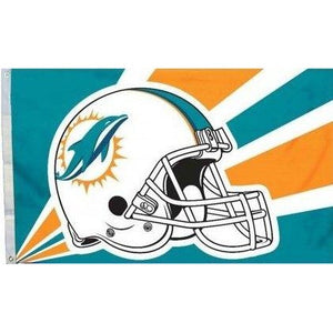 Miami Dolphins 3x5ft Flag