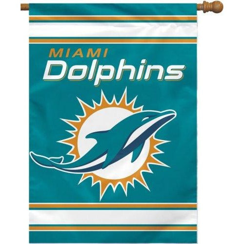 Miami Dolphins House Flag 2 Sided