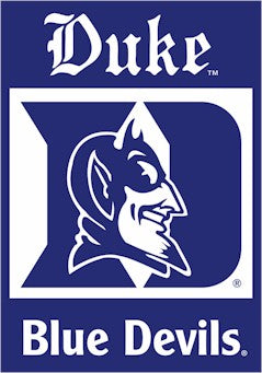 Duke University House Flag 2 Sided