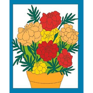 Marigolds - House Flag - FlagsOnline.com by CRW Flags Inc.