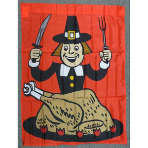 Hungry Pilgrim - House Flag - FlagsOnline.com by CRW Flags Inc.