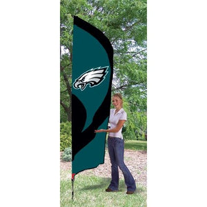 Philadelphia Eagles 8ft Feather Sewn Flag Kit