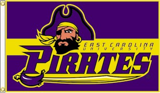 East Carolina University 3x5ft Flag