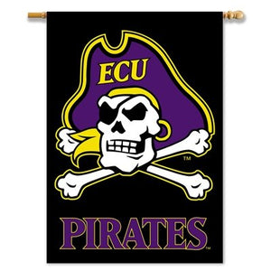East Carolina University House Flag 2 Sided